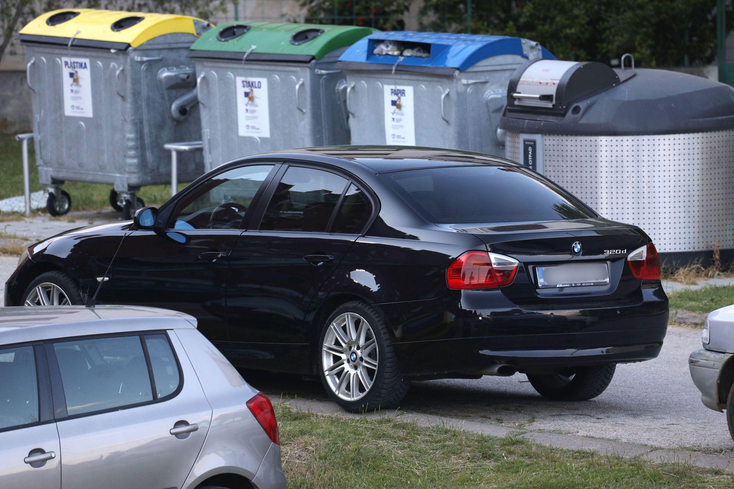 BMW u kojem je ostavljen petogodišnji dječak / Foto Dusko Jaramaz/PIXSELLL