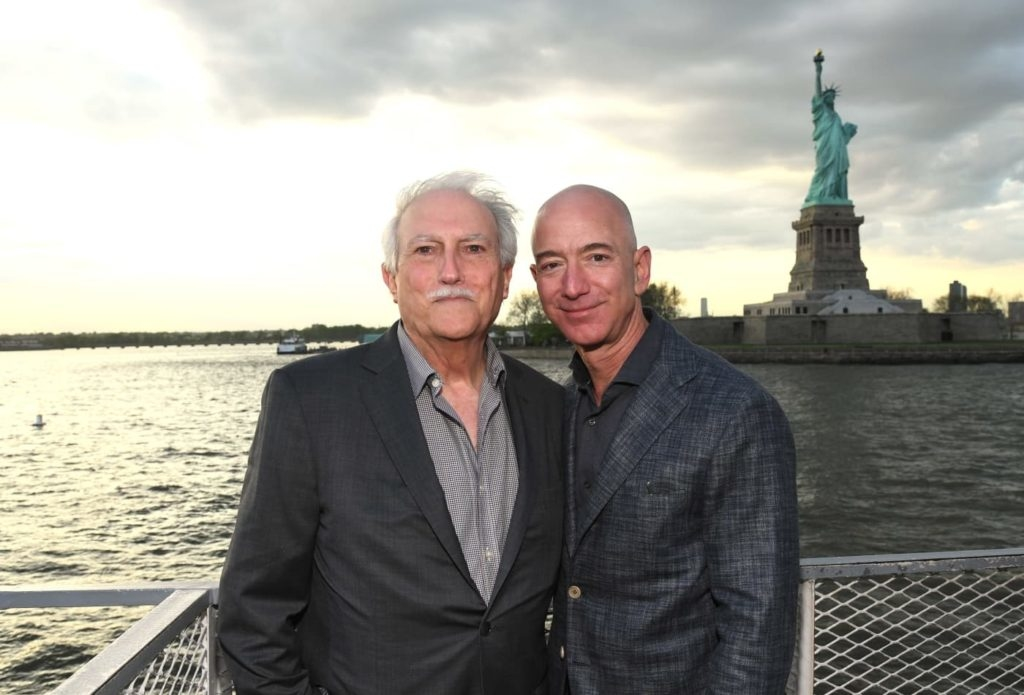 Miguel i Jeff Bezos