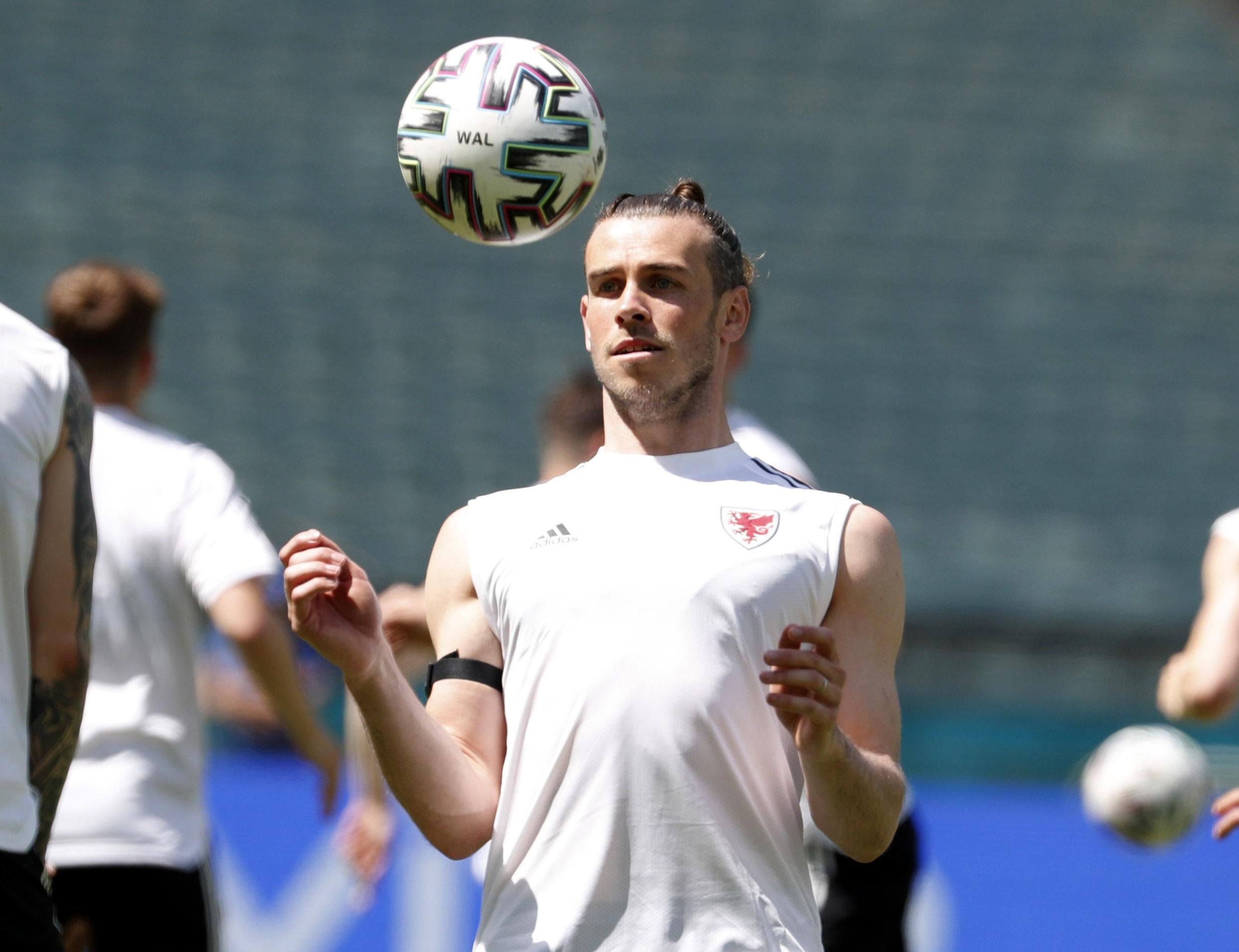 Gareth Bale na treningu/Foto: REUTERS