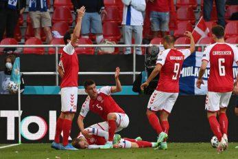Igrači pozivaju pomoć za Christiana Eriksena/Foto: REUTERS