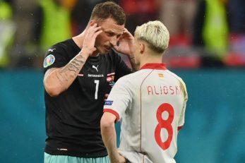Marko Arnautović i Ezgjan Alioski/Foto REUTERS