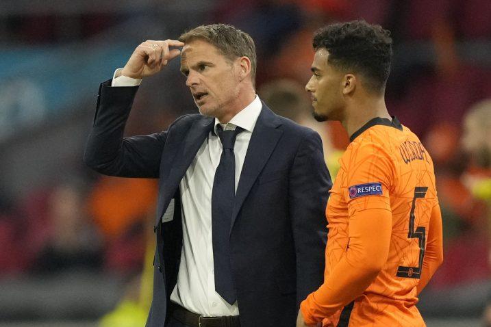 Frank de Boer i Owen Wijndal/Foto REUTERS