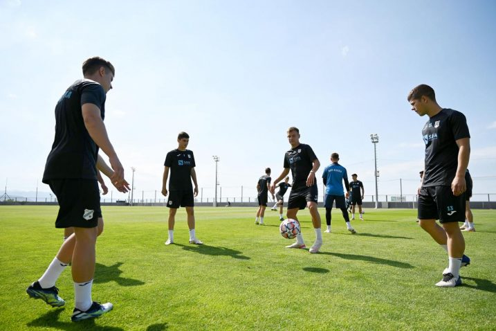 Nogometaši Rijeke započeli su pripreme na Rujevici/Foto M. LEVAK