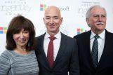 Foto: Jacklyn, Jeff i Miguel Bezos