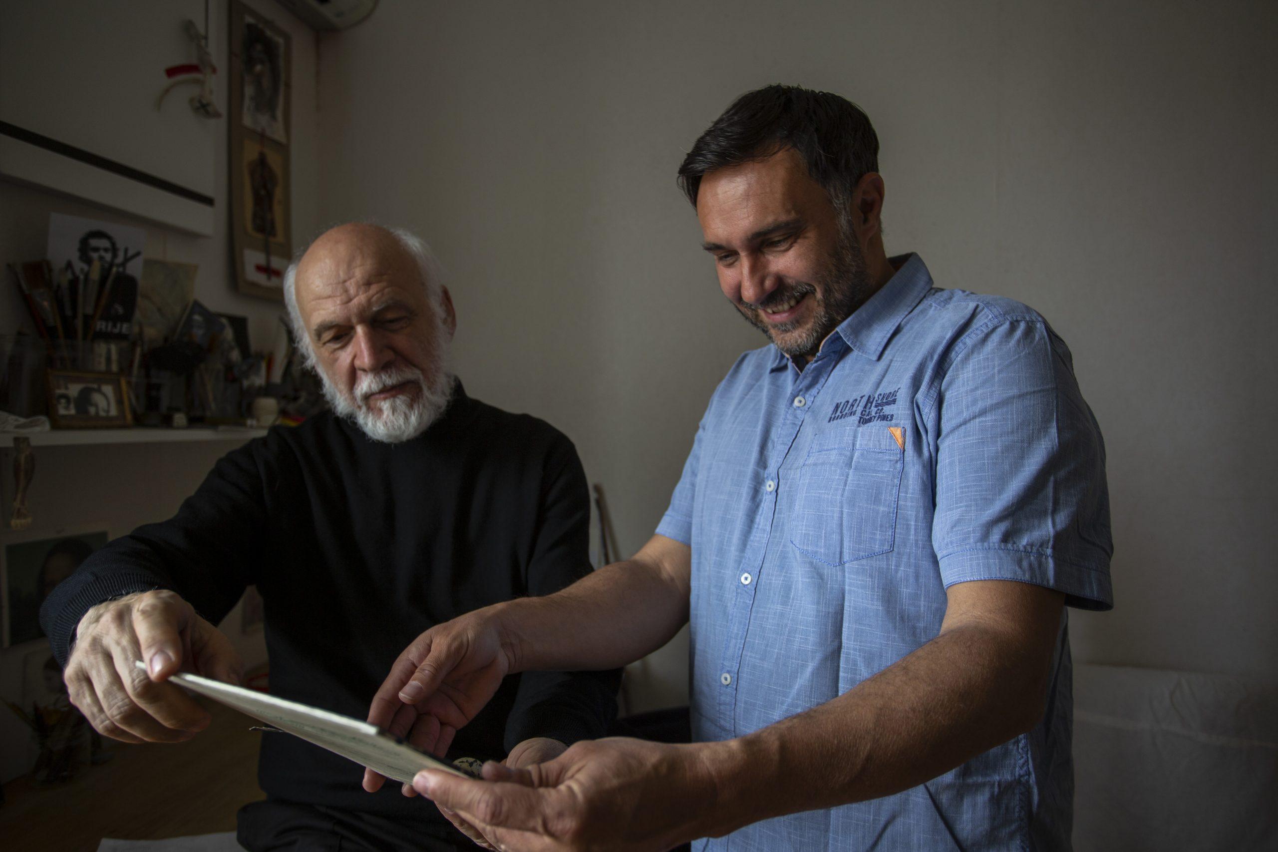 Dimitrije Popović i Marko Vrdoljak