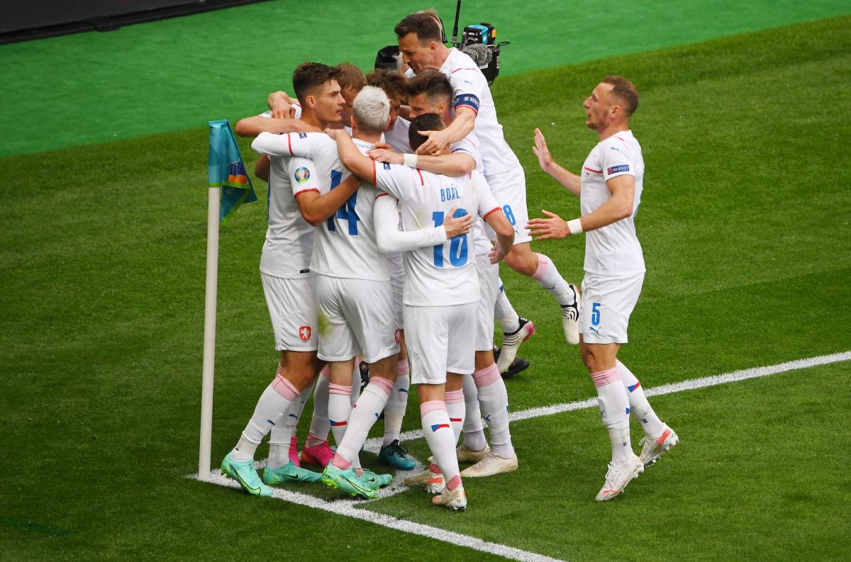 Slavlje igrača Češke/Foto: REUTERS