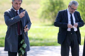 Milorad Pupovac i Ognjen Kraus / Foto: Slavko Midzor/PIXSELL