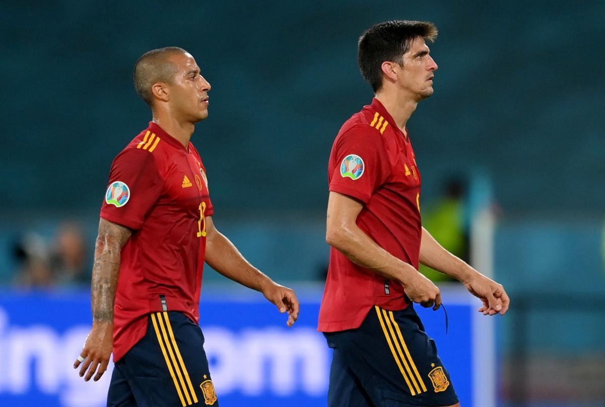 Thiago i Gerard Moreno/Foto REUTERS