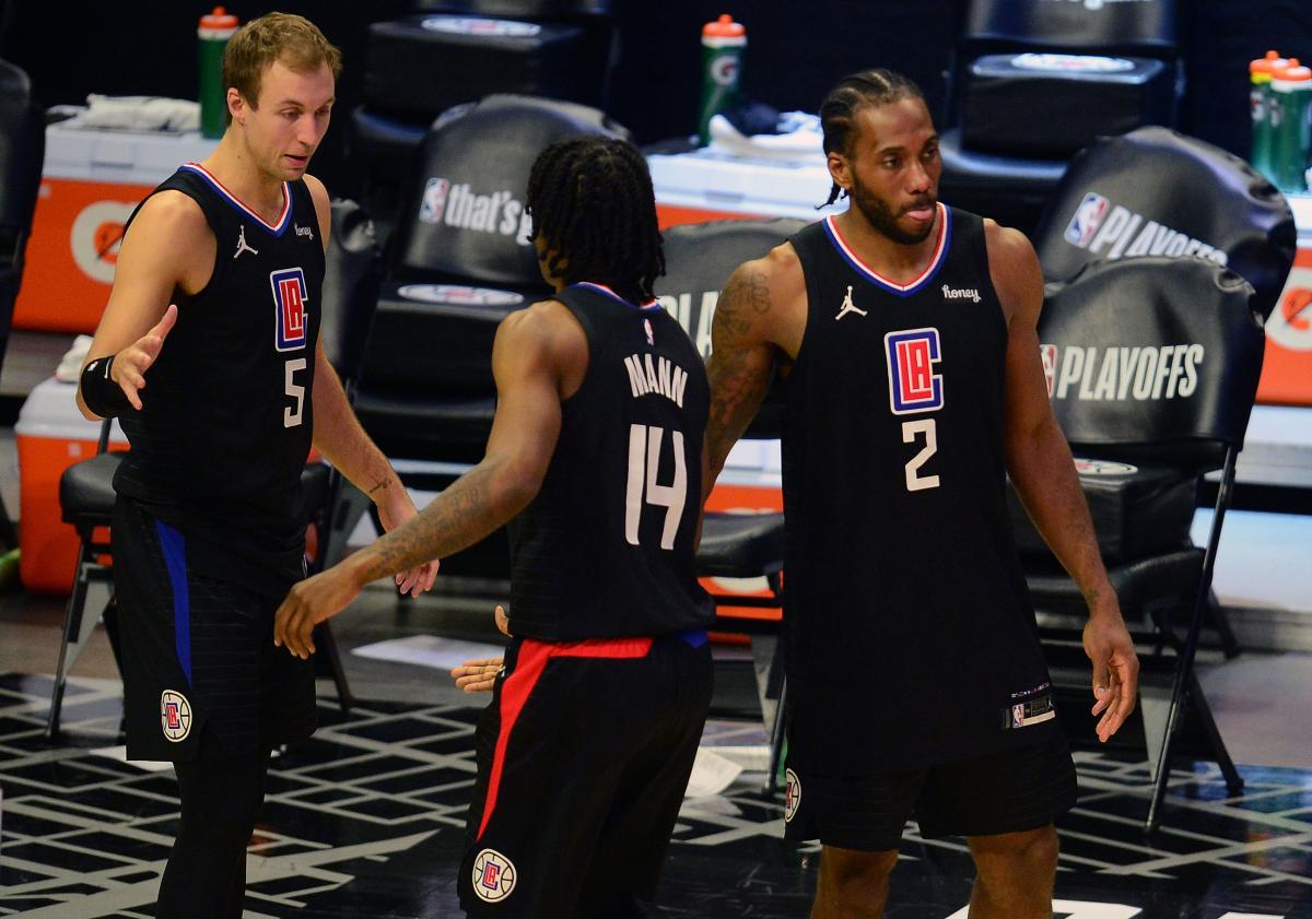 Igrači LA Clippersa/Foto REUTERS