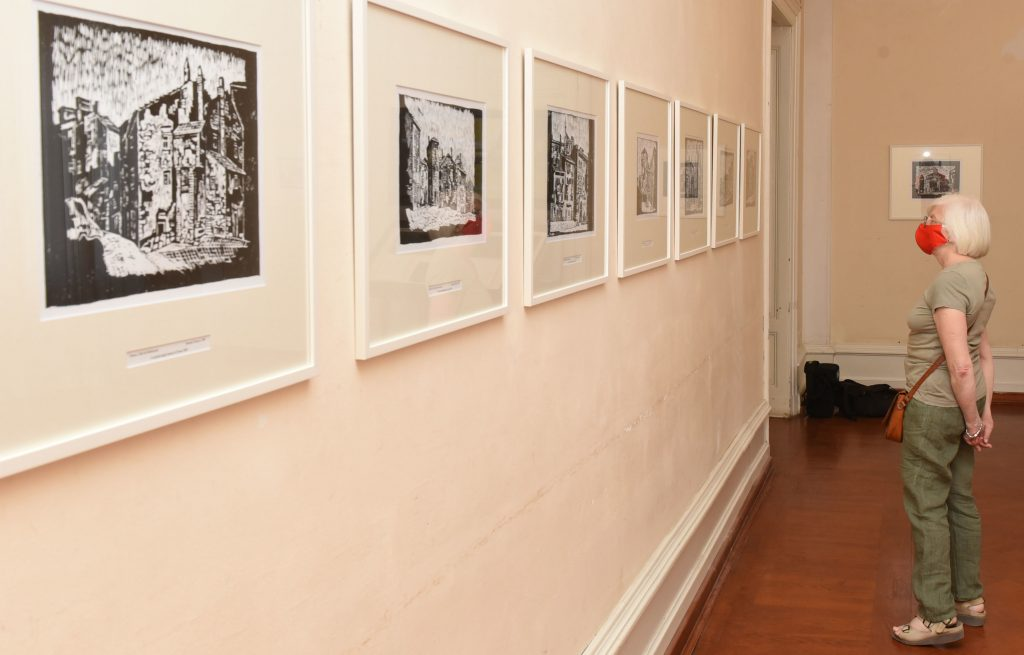 Izložba »Romolo Venucci - linorezi Staroga grada« / Snimio M. GRACIN