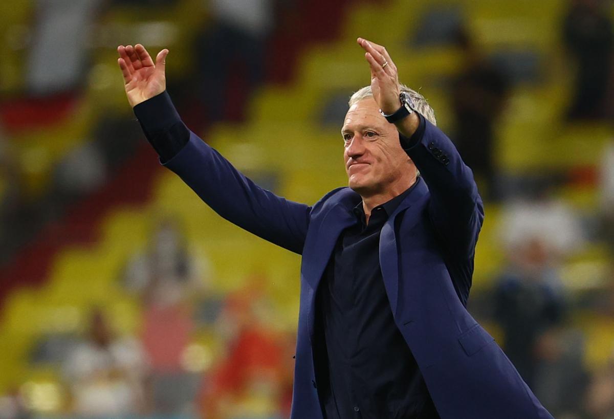 Didier Deschamps/Foto: REUTERS