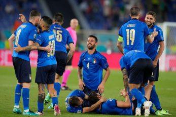 Nogometaši Italije/Foto REUTERS