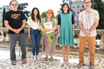 Sandro Bastiančić, Tina Vukov, Jadranka Čubrić, Sonja Šišić i Niko Cvjetković / Foto Marko Gracin