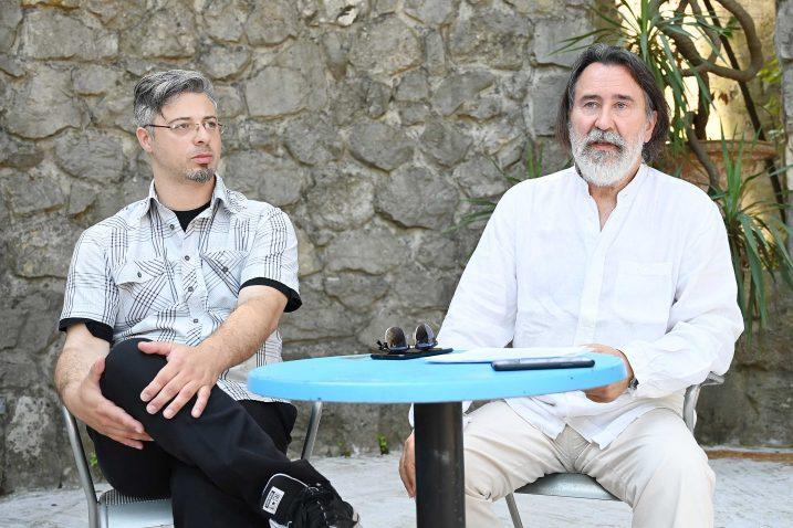 Ernie Gigante Dešković i Elvis Stanić / Foto Mateo Levak