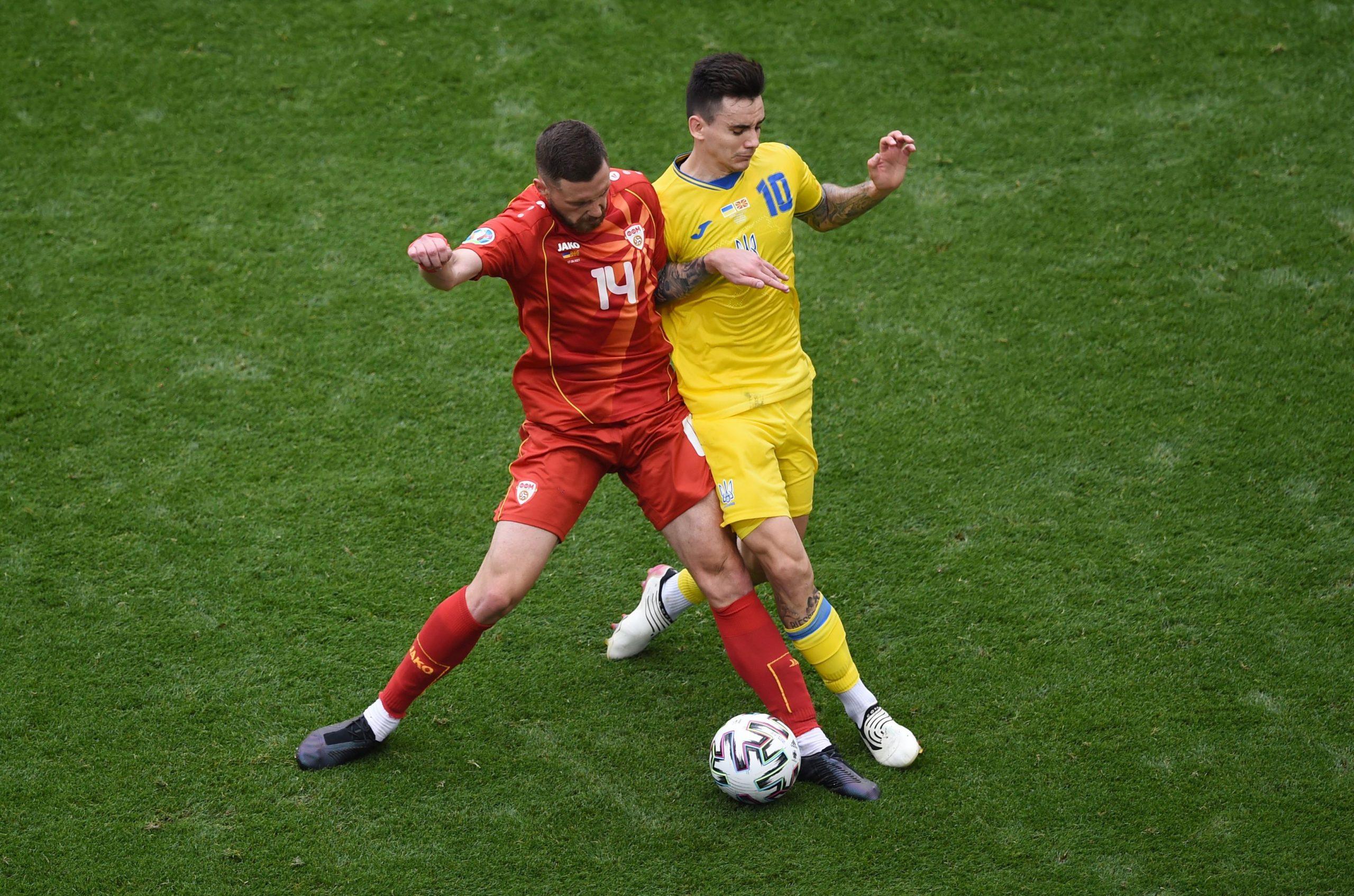 Darko Velkovski zaključio je nastup na EURO-u u dresu Makedonije/Foto REUTERS