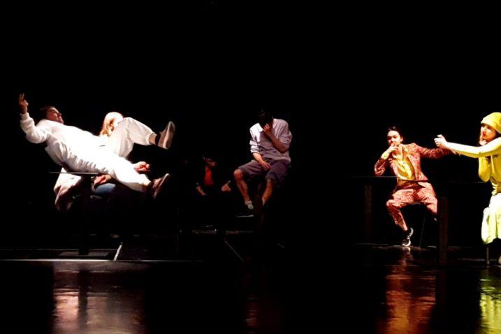"""Prizor iz predstave """"Njemački za početnike"""""""