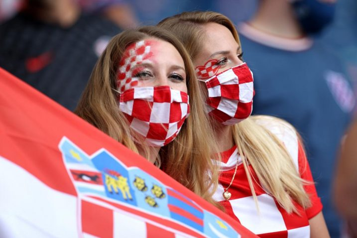 Navijačice Vatrenih/Foto: REUTERS