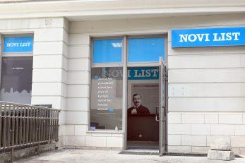 Na novoj adresi i dalje možete predati osmrtnice, male oglase ili pretplatiti se na Novi list i enigmatska izdanja Skandi Feniks / Foto Vedran Karuza