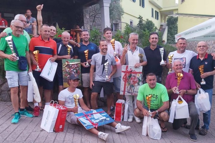 Nagrađeni sudionici turnira Rukavac Open