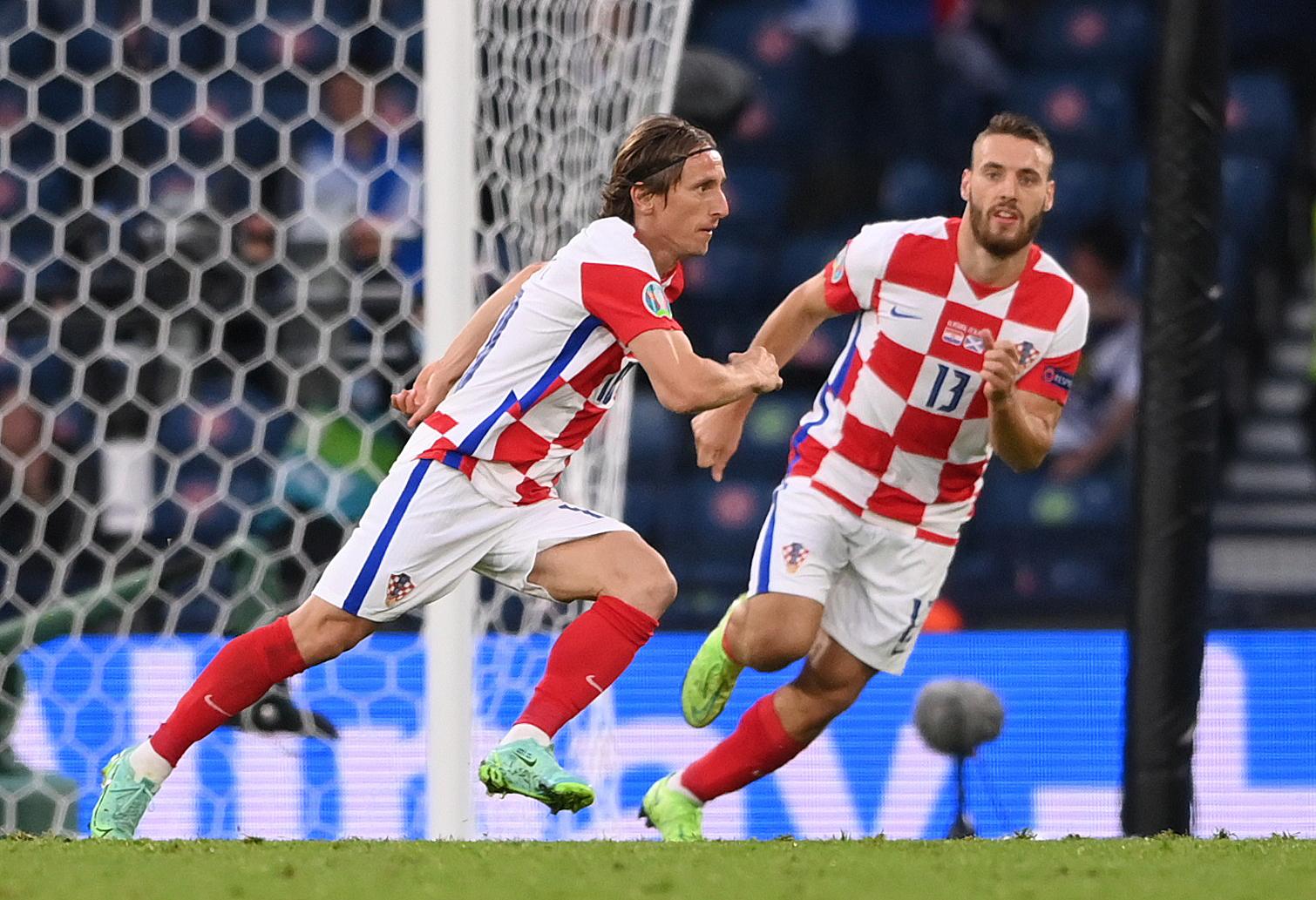 Luka Modrić i Nikola Vlašić/Foto REUTERS