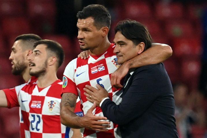 Dejan Lovren i Zlatko Dalić/Foto REUTERS