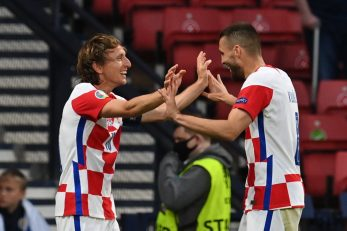 Luka Modrić i Mateo Kovačić/Foto REUTERS