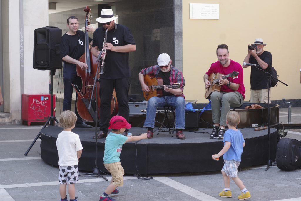 Oridano Gypsy Jazz Band ili jazz se voli od malih nogu