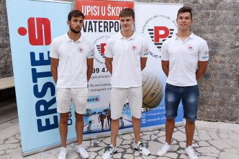 Noa Burburan, Niko Čubranić i Roko Vuković/S. DRECHSLER