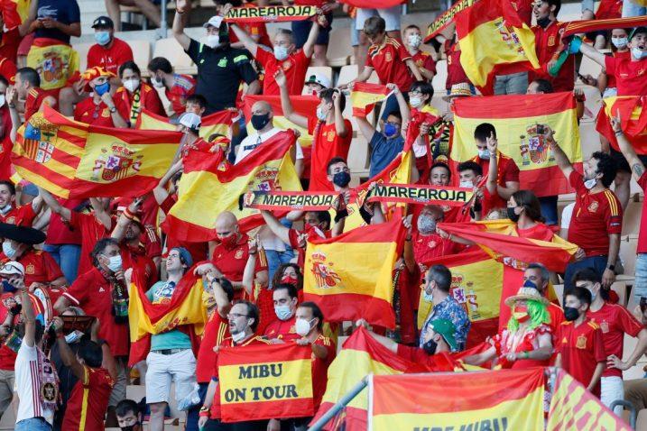 Navijači Španjolske/Foto REUTERS