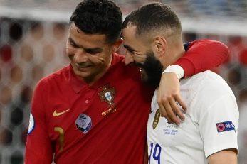 Cristiano Ronaldo i Karim Benzema/Foto REUTERS