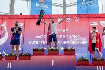 ZLATO - Vitomir Maričić na vrhu pobjedničkog postolja