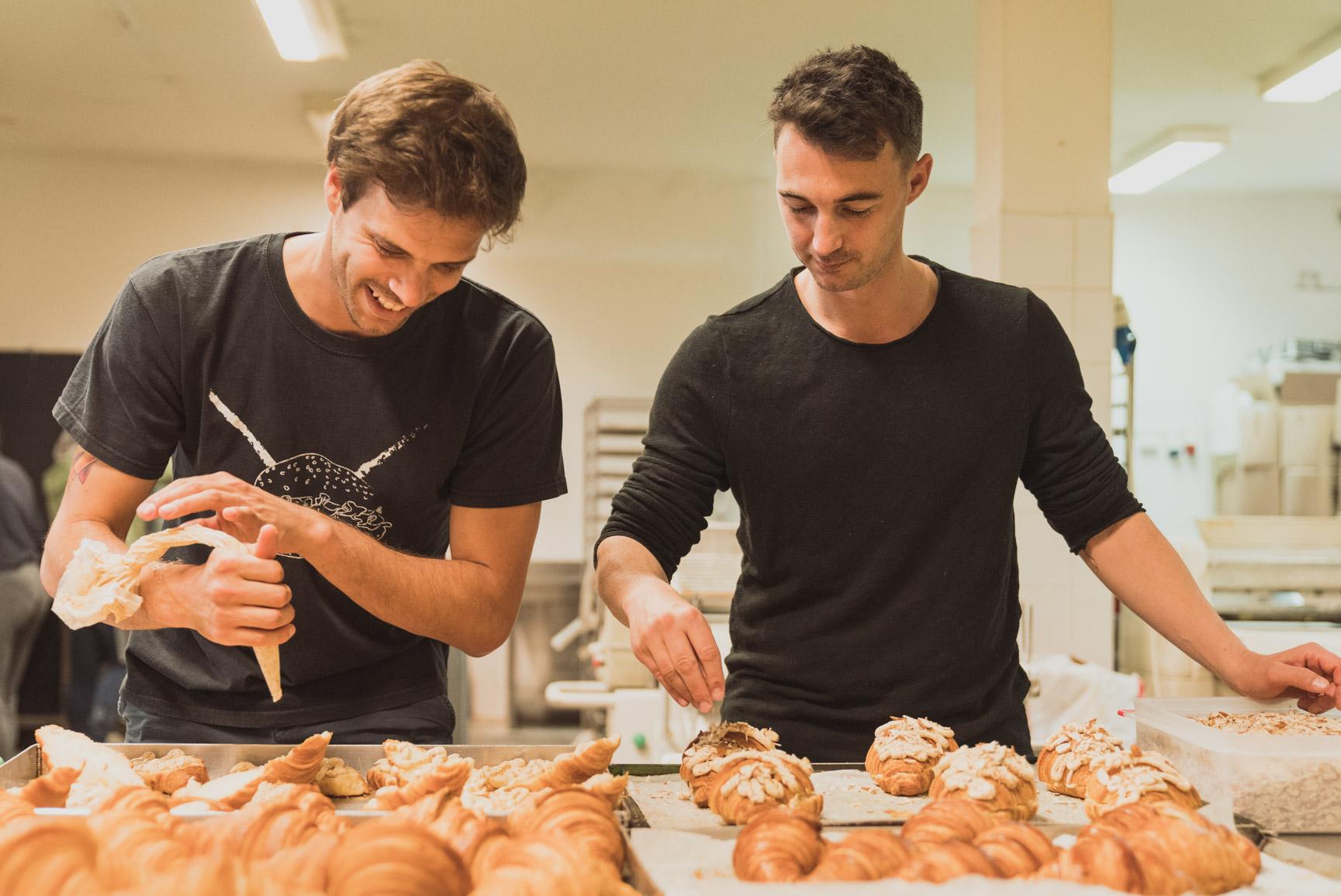 Dvojac koji stoji iza prve hrvatske nevidljive pekare Invisible Bakery Krostula