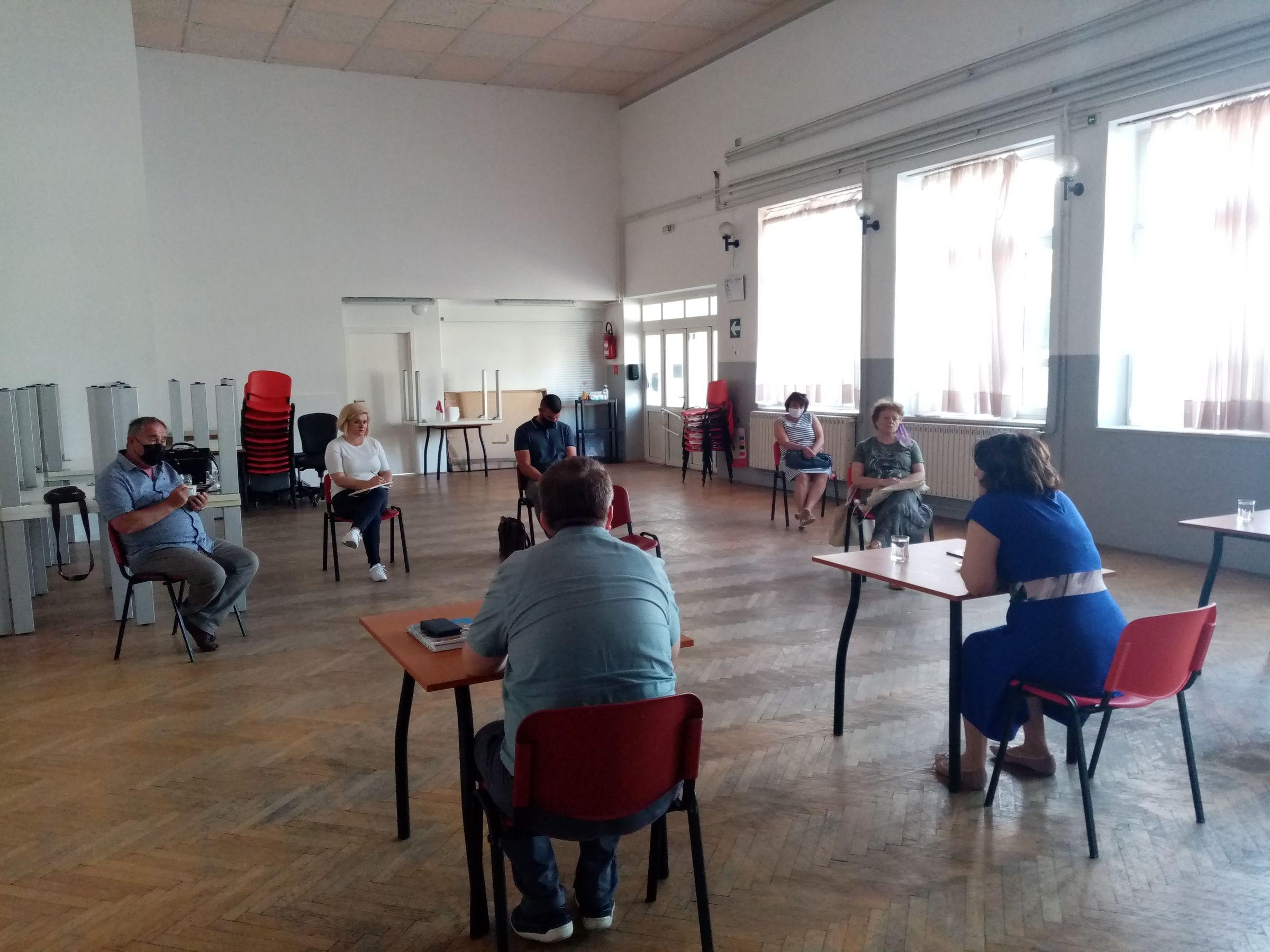 Sa sastanka u Viškovu
