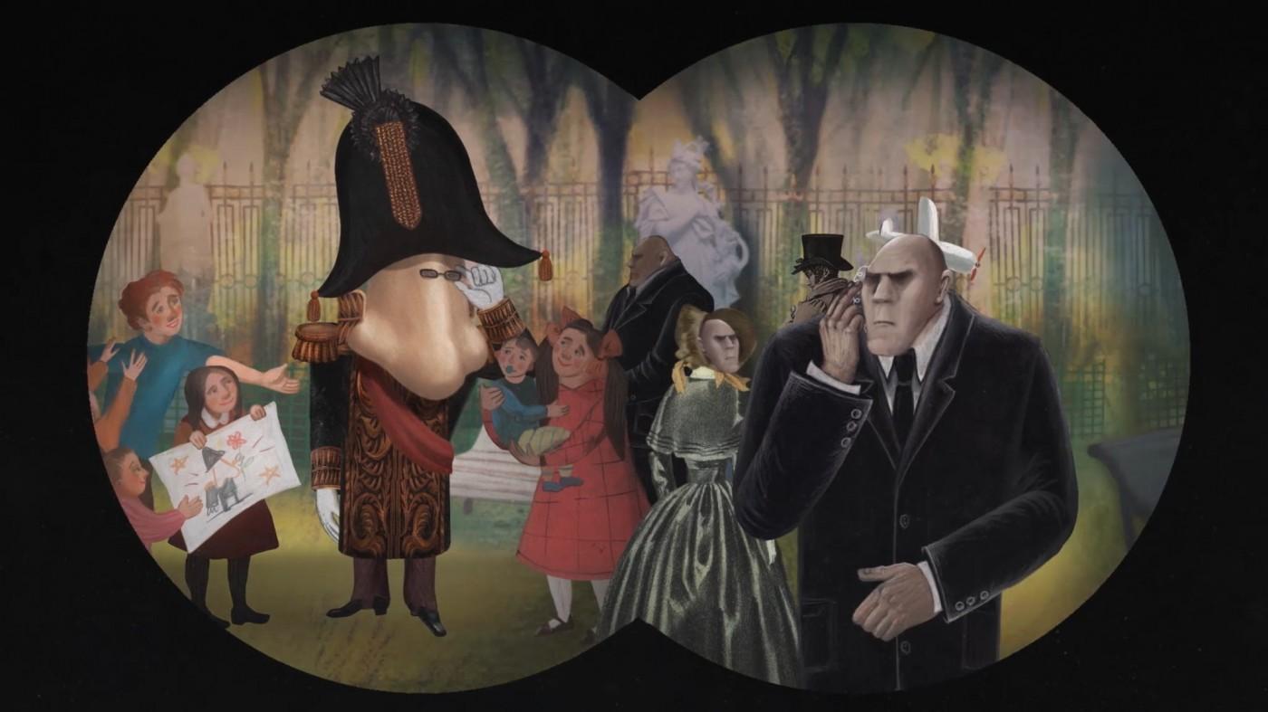 Scena iz filma Nos ili zavjera odmetnika