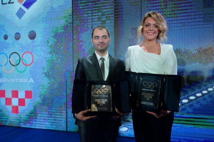Josip Glasnović i Sandra Perković/Foto PIXSELL