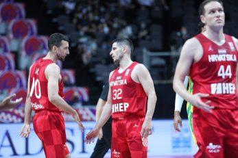 Roko Ukić, Roko Rogić i Bojan Bogdanović/Foto: PIXSELL