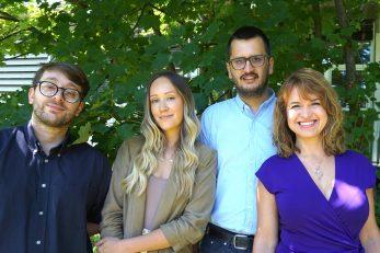 Patrik Risteski, Ivana Ponjavić, Kruno Vukušić i Iva Tolić / Foto IRB