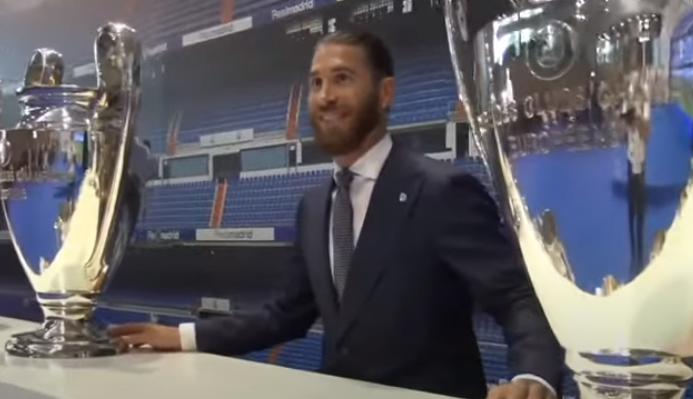 Sergio Ramos/Foto Screenshot, YouTube