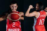 Mia Mašić i Andrijana Cvitković/Foto FIBA