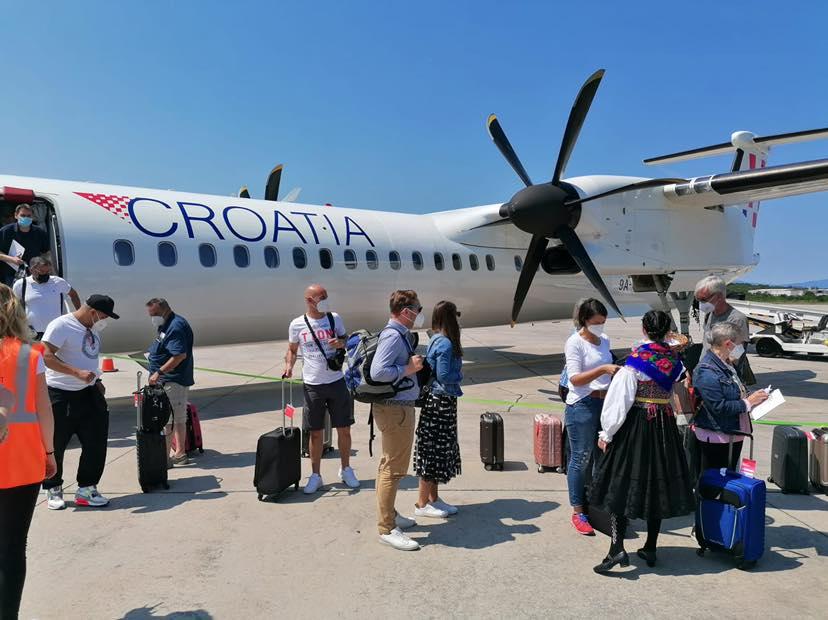 Foto Facebook Croatia Airlines