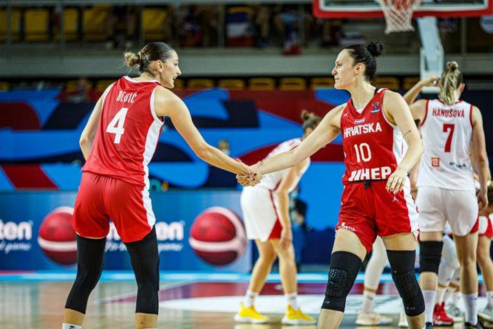 Ana-Marija Begić i Andrijana Cvitković/Foto FIBA