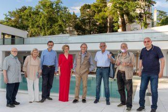 Sudionici ovogodišnjih jubilarnih 20. Jadranskih književnih susreta u Crikvenici (snimio: Marino Klement)