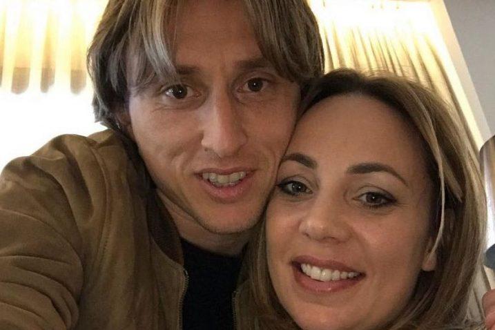 Luka i Vanja Modrić / Foto Screenshot Instagram Luka Modrić