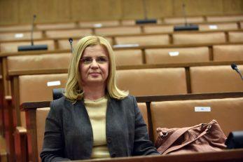 Istina je da se upravo bavim granom prava koja mi daje znanja koja su potrebna predsjednici Vrhovnog suda - Zlata Đurđević / Foto Davor Kovačević
