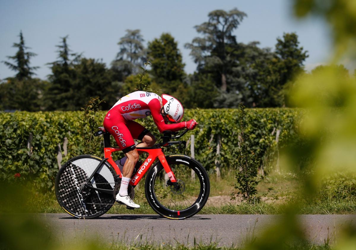 Simon Geschke tijekom Tour de Francea/Foto REUTERS