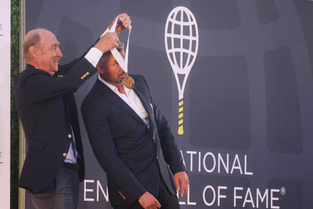 Stan Smith i Goran Ivanišević/Foto REUTERS