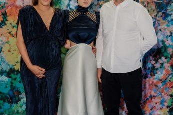 Redateljica Antoneta Alamat Kusijanović, glumica Gracija Filipović i producent Danijel Pek, Foto: A. PICHON