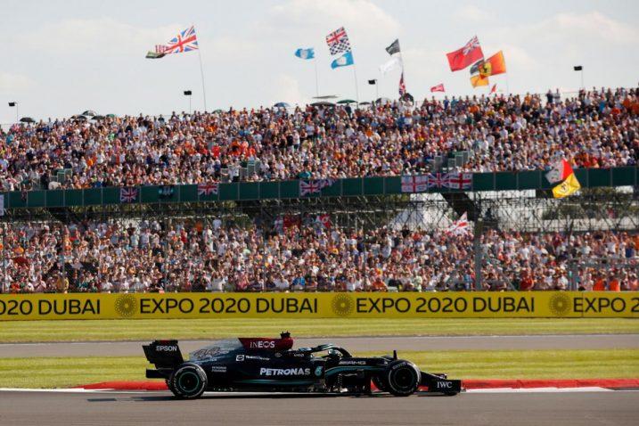 Hamiltonov Mercedes tijekom utrke/Foto REUTERS
