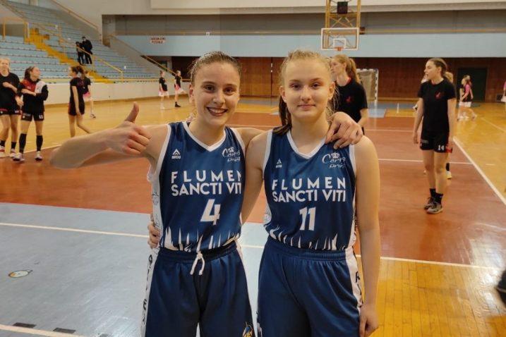 Katarina Sekulić i Dorotea Brandić u dresu FSV-a