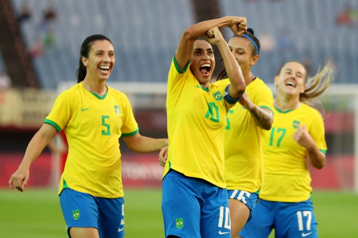 Marta je zabila dva gola na otvaranju OI/Foto REUTERS